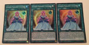 Super Rare Yugioh 1st Edition Near Goddess Verdande/'s Guidance SHVA-EN009