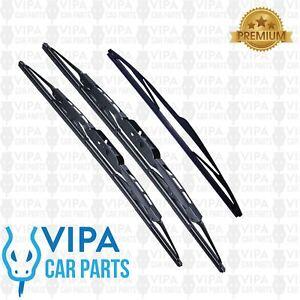 Chevrolet-Matiz-Hatchback-JAN-2005-to-DEC-2005-Windscreen-Wiper-Blades-Set
