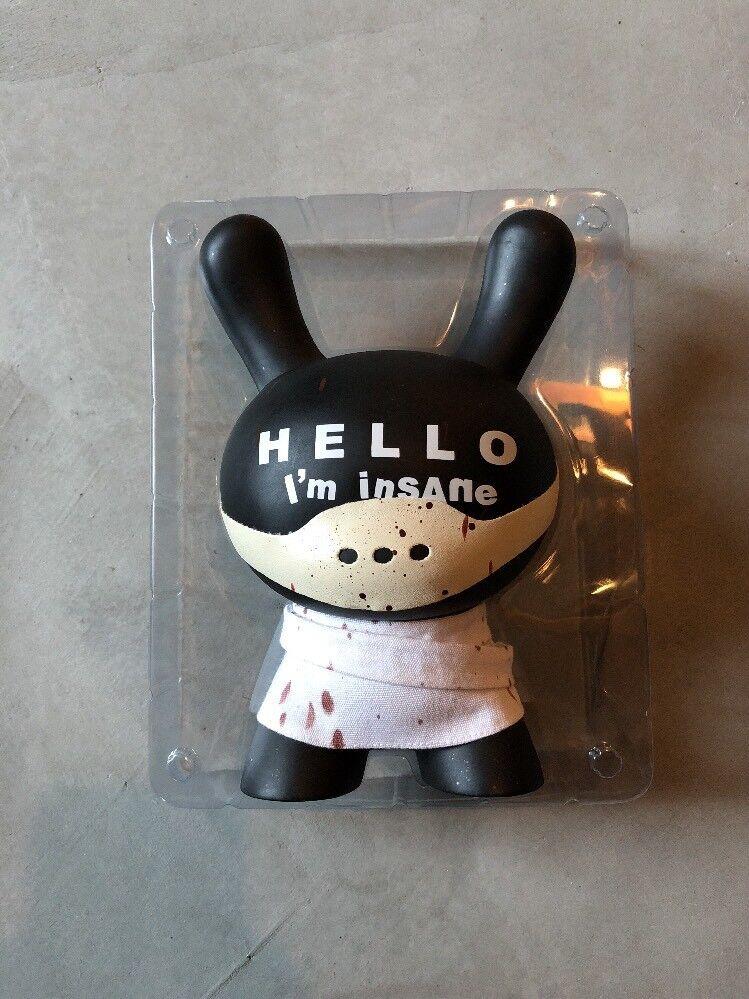 Kidrobot Hola Estoy Loco 8  Dunny por Huck Gee Muy Rara