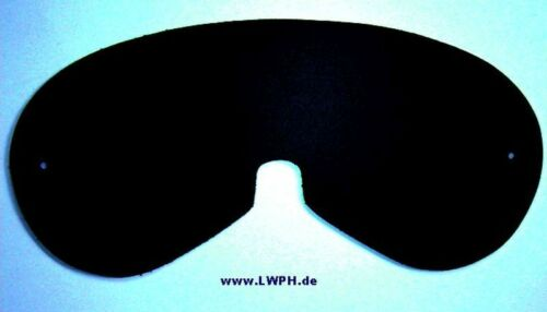 Große Leder-Masken selbst Basteln Rohling schwarz rot weiß blau braun Maske LWPH