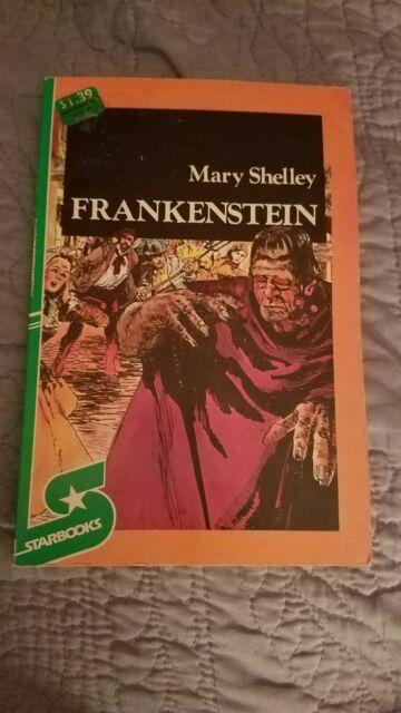 Mary Shelley Frankenstein Starbooks 1980 Vintage Book