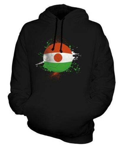 NIGER FOOTBALL UNISEX HOODIE TOP GIFT WORLD CUP SPORT
