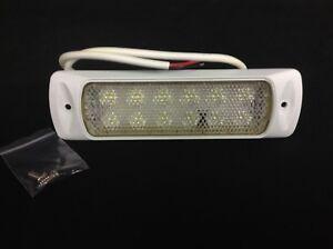Hella-White-LED-Deck-Floodlight-Spreader-Light-w-White-Housing-980747111