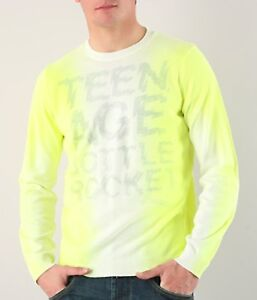 Larga Sweater New Sleeves Nuevo Energie Manga Jersey Pullover Neon Long Bango qTvHtP7