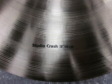 "Sabian HHX 18"" Studio crash.11806XN never played"