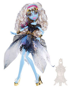 Monster-High-Abbey-Bominable-13-WUNSCHE-13-Wishes-BBR94-OVP