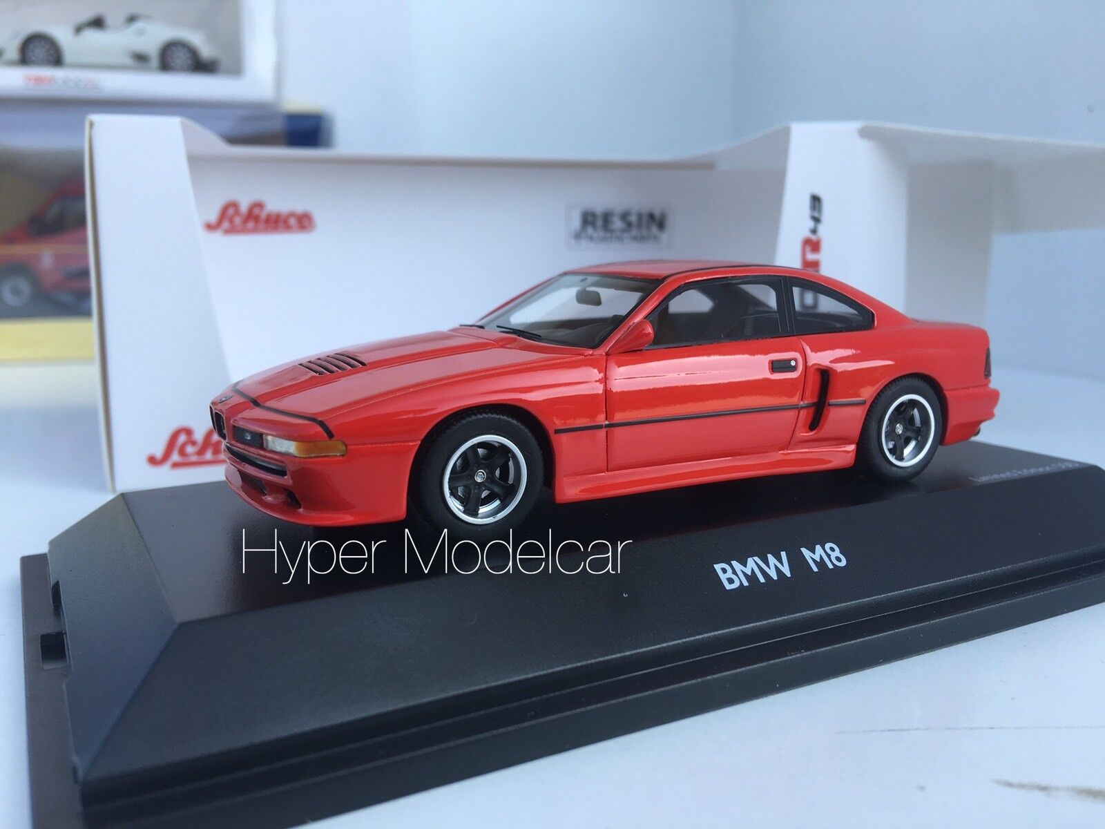 SCHUCO 1 43 Bmw 8-Series M8 E31 Coupè 1989 Red Art. 09026