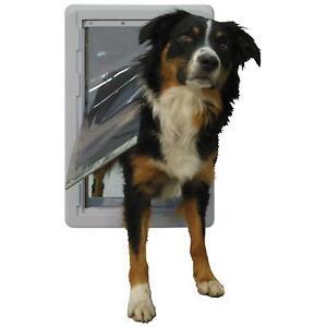 Ideal Ruff Weather ENERGY SAVER Dog Cat Pet Door Designer Series Medium
