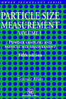 Particle Size Measurement: Volume 1: Surface Area and Pore Size Determination by Terence Allen (Hardback, 1996)