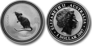 2007-2008-Silver-1-oz-Australian-Silver-Lunar-Rat-Series-1