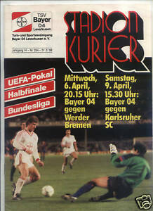EC-III-SEMI-FINAL-87-88-Bayer-Leverkusen-Werder-Bremen