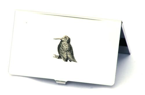 Woodcock Standing Business Card Holder Game Shooting Gift