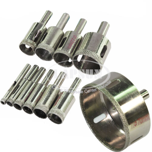 4mm-100mm Diamond Coated Trou Scie Carrelage Verre Céramique Marbre Drill Bit Set Cutter