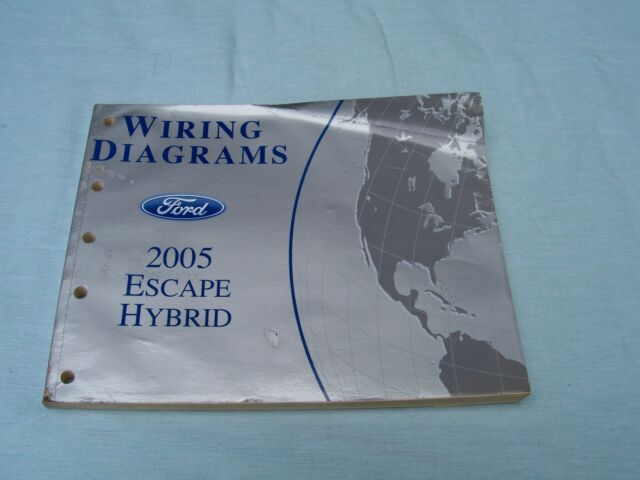 2005 Ford Escape Hybrid Wiring Diagrams