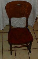 Quartersawn Oak & Cherry Sewing Rocker / Rocking Chair  (BH-R182)