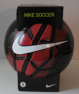 23f63485e Nike Mercurial Fade Soccer Ball Size 5 Color Black Red White New IN ...