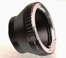 Pentax PK K lens to Pentax Q mount adapter ring for Q Q10 Q7 Q-S1 cameras