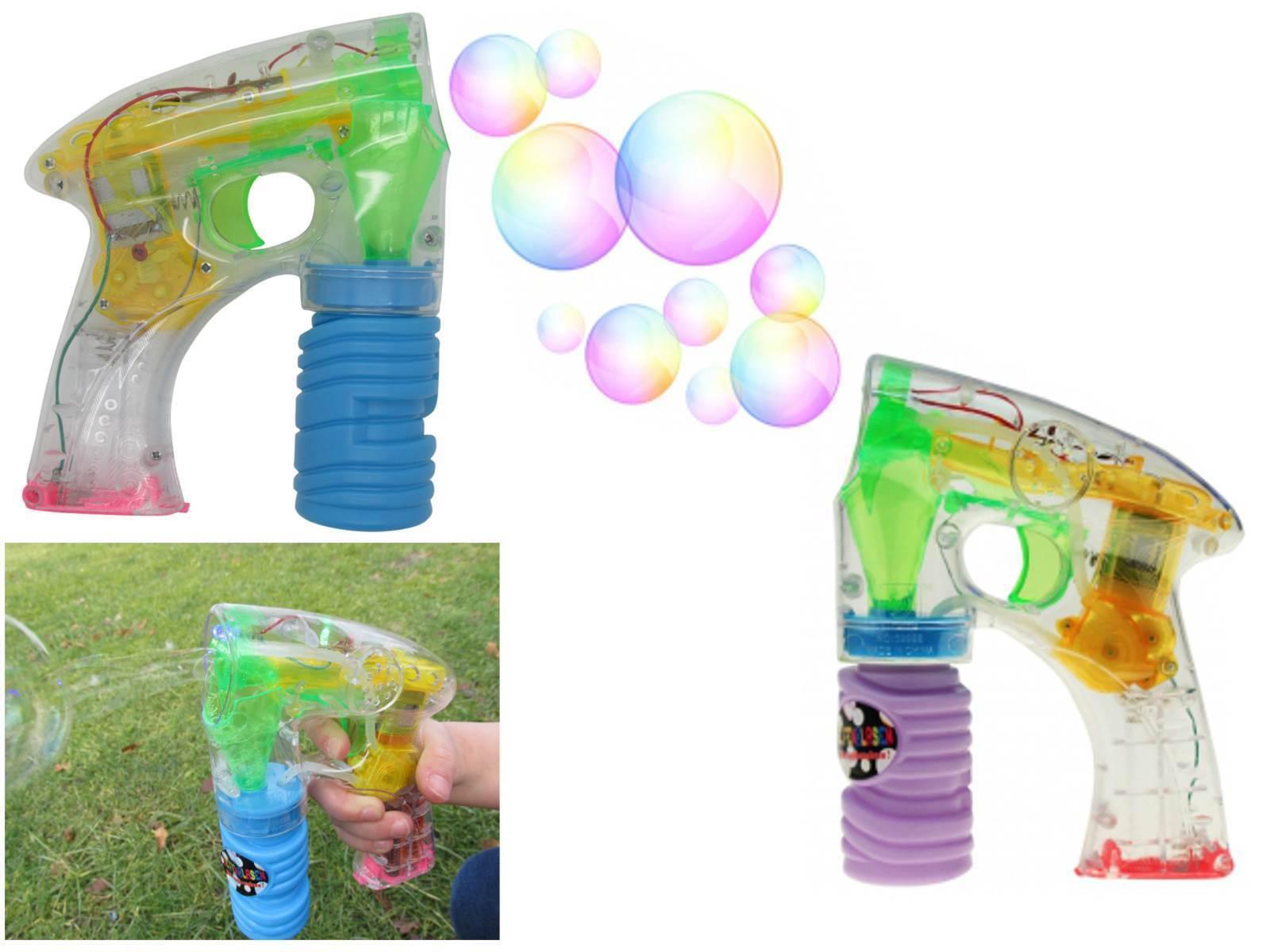 Seifenblasenpistole + Seifenblasenflüssigkeit Seifenblasen Pistole Elektrisch