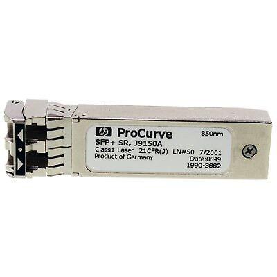 Lot of 6 BRANDNEW J9150A HP X132 10G SFP LC SR 850nm 300m Compatible Transceiver