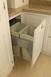 Bin Unit Handmade Shaker Solid Wood/MDF Kitchen Base Units Painted & IN-STOCK