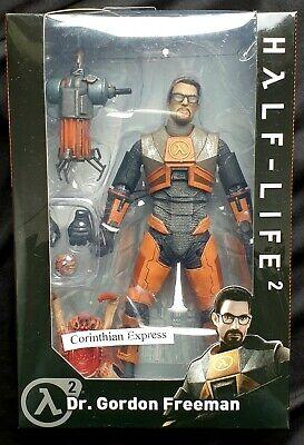 "Gordon Freeman Half-Life 2-7/"" Scale Action Figure Dr NECA Valve 18cm"