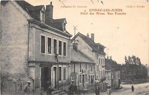CPA-71-EPINAC-LES-MINES-HOTEL-DES-MINES-RUE-FRANCHE