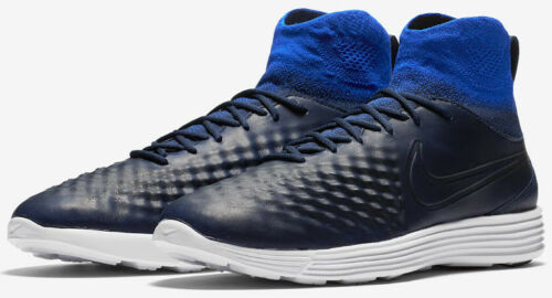 Wholesale Nike Mens Lunar Magista II FK Running Shoes - Navy/White - Size 10.5 - NIB for sale
