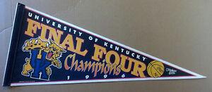 1996 Kentucky Wildcats NCAA Finals Champions Basketball Pennant WinCraft