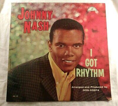 Johnny Nash / I Got Rhythm 1959 *MONO* VINYL LP & COVER ...