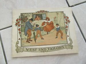 Catalogue Fashion Grands Shops West End Tailors 1907