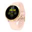 Senora-dorado-c19-Bluetooth-reloj-redondo-display-Android-iOS-Samsung-iPhone-IP miniatura 1