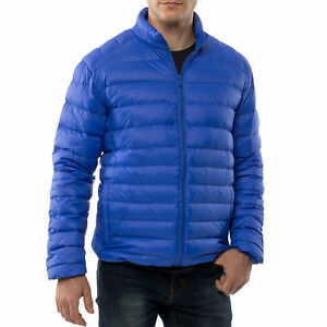 Alpine Swiss Niko Packable Light Mens Down Jacket Puffer Bubble Coat Warm Parka