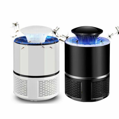 LAMPADA ANTI-ZANZARE ZANZARIERA MOSCHE AMMAZZA INSETTI PORTATILE USB LED