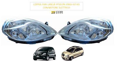 COPPIA FARI ANTERIORI H7//H3 LANCIA YPSILON 2006/> MUSA 2007/>