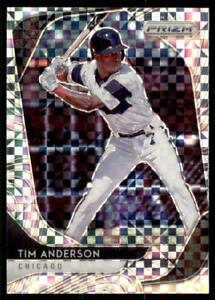2020-Prizm-Tier-II-Power-Plaid-Prizm-161-Tim-Anderson-75-Chicago-White-Sox
