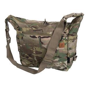 Charmant Helikon Tex Satchel Bag Sac à Bandoulière Outdoor Survival Marcheurs Sac Multicam-afficher Le Titre D'origine