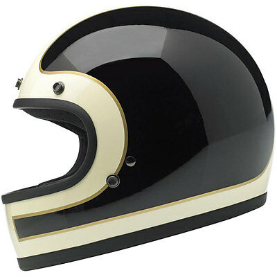 Biltwell Gringo Full Face Motorcycle Helmet - Choose Size & Color