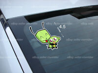 Invader Zim With Monkey Gir Decal Cartoon Free Ship