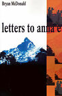 Letters to Anna E by Bryan McDonald (Paperback / softback, 2001)