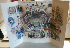 1986-NY-Mets-World-Series-Full-Color-Lithograph-034-A-Year-to-Remember-034