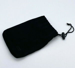 Western Digital hard disk black pouch with adjustable closure