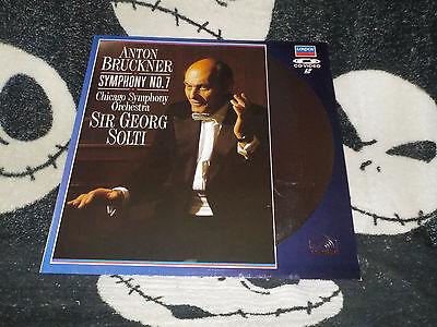 Anton Bruckner Symphony No 7 Sir Georg Solti Laserdisc Ld Gratis Versand $30 Modische Muster