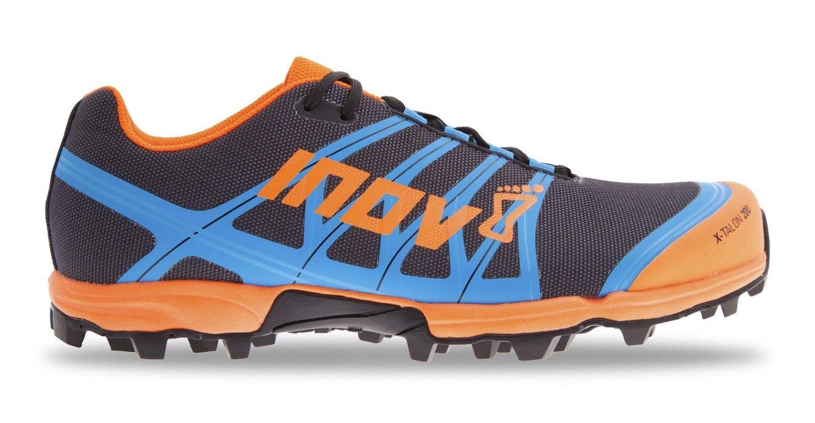 Inov8 X-Talon 200 Grey orange bluee
