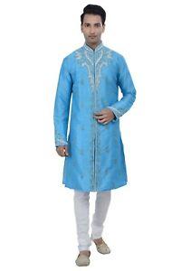 Ethnic Indian Design Kurta Sherwani for Men 2pc Suits Worldwide Postage
