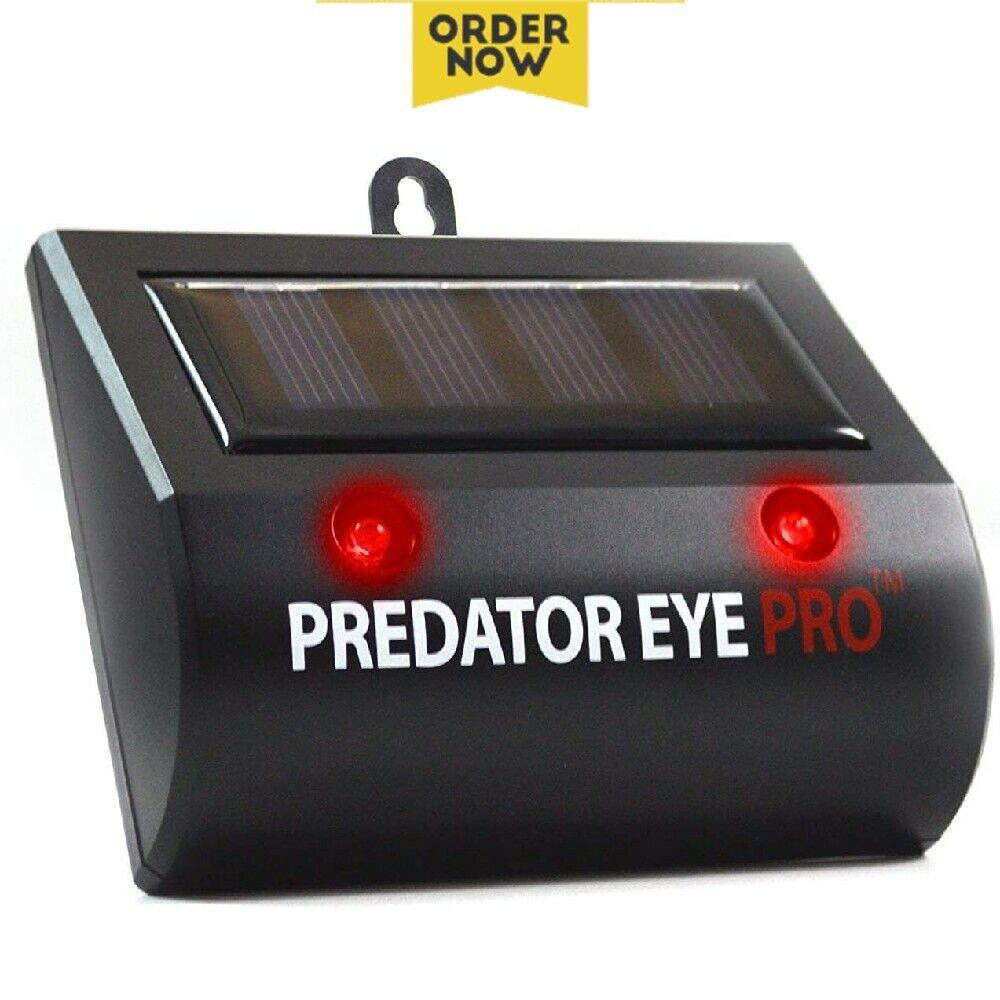 Comforday Cat Predator Eye Pro Night Solar Animal Repellent Outdoor Waterproof