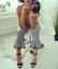 Med Pom Gingham Størrelse Bukser Large Poms Bnwt Zara qR7xFpp
