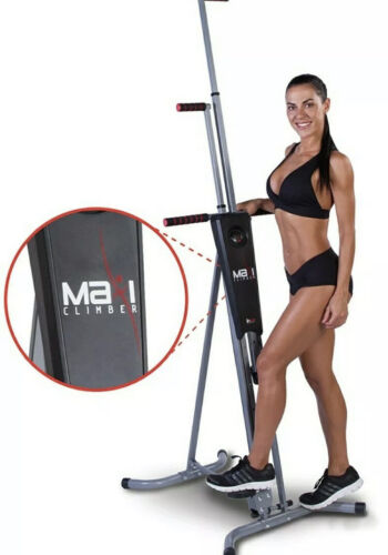 Maxi Climber Vertical Climbing Fitness System.Black Or Silver Available RRP £149
