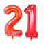21st-Helium-Foil-Birthday-Anniversary-Balloon-32-034-Or-40-034 thumbnail 4
