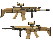 1:1 US FN SCAR-L Assault Sniper Rifle Pistol Submachine Shot gun Paper Model Kit
