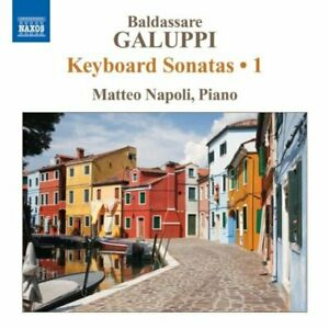 Matteo Napoli - Galuppi: Piano Sonatas 1 [CD]